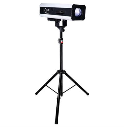 Seguidor Profesional, Tripie incluido Spot de 330 watts, Lampara Led Doble, Disco de 6 Colores + Blanco