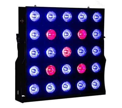 MATRIX LED 25X 10 Watts 4 EN1 RGBW, Panel ,Programación integrada 7 canales DMX512 LED