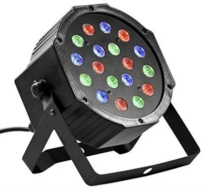 PAR LED 18*3 RGB DMX